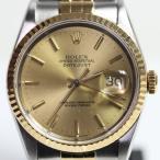 ROLEX ロレックス  デイトジャスト メンズ 腕時計 オートマチック 自動巻き X番 16233 当社指定業者にてOH・仕上げ済 MT1509 中古