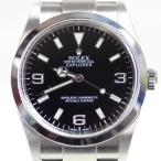 ロレックス ROLEX エクスプローラー1 メンズ 腕時計 自動巻き ブラック文字盤 114270 F番 MT1631 中古 質屋出品