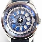 シチズン カンパノラ CITIZEN CAMPANOLA  コスモサイ AA7800-02L 月齢盤モデル 腕時計  中古 美品 MT1587