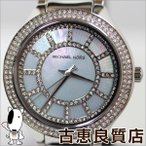 新品/未使用品/マイケルコース MICHAEL KORS KERRY ケリー MK3395 マザー・オブ・パール×シルバー腕時計 レディース/MT427/買取品/質屋出店