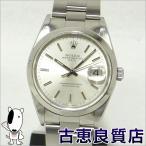 ROLEX ロレックス オイスターパーペチュアルデイトメンズ  腕時計 自動巻き 15200 P番 (hon)