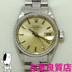 ロレックス ROLEX アンティーク 6524 オイスターパーペチュアル デイト レディース腕時計 自動巻き 中古 (hon)