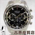 未使用・買取品 ZENITH ゼニス エル プリメロ メンズ 腕時計 自動巻き 36000VPH クロノグラフ シースルーバック 黒文字盤 03.2040.400 (hon)値下げ