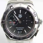 TAG HEUER タグホイヤー アクアレーサー グランドデイト アラーム メンズ   腕時計 クオーツ WAP111Z.BA0831(hon)