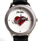 MT3454 FolliFollie フォリフォリ 腕時計ALLTHATJAZZ レディース WF9A017SP S-BK/中古