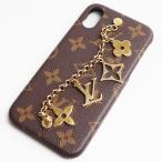 LV lv ルイヴィトン LOUIS VUITTON IPHONEバンパー iPhoneX&XS スマホケース  モノグラム M63899/中古/質屋出店