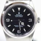 ロレックス ROLEX EX1 エクスプローラー1 メンズ 腕時計 自動巻き ブラック文字盤 14270 P番 OH済み MT1465 中古 美品