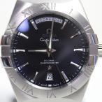 OMEGA オメガ コンステレーション 123.10.38.22.01.001 メンズ腕時計 オートマ38mm 黒文字盤 シースルーバック MT1534 中古