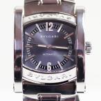 ブルガリ BVLGARI AA44S メンズ 腕時計アショーマ 自動巻き オートマ SS グレー文字盤 質屋出店 MT1662 中古