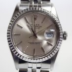 ROLEX ロレックス デイトジャスト シルバー文字盤 メンズ腕時計 自動巻き 16030 中古 アンティークあすつく当社指定業者にてオーバーホール・仕上げ済み MT2014