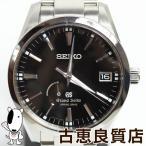 SEIKO セイコー GRAND SEIKO グランドセイコー メンズ 腕時計 スプリングドライブ MT1451 中古 美品 パワーリザーブ SBGA101/9R65-0BM0
