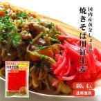 紅しょうが 60g×4 国産 紅生姜 黄金しょうが ガリ 甘酢しょうが 酢しょうが ゆうパケット送料無料 坂田信夫商店