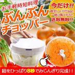 【送料無料】ぶんぶんチョッパー&黄金しょうが1kg 簡単酢生姜セット