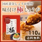 ★セール★味付け極しょうが 110g  酢しょうが 万能調味料 ポイント消化