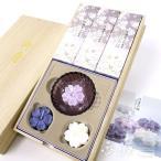 日本香堂のお線香 贈答用 ギフト 淡墨の桜 浮きローソクセット 進物 喪中見舞い