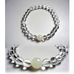 数珠 ブレスレット 女性 男性 腕輪 レディース メンズ 水晶 誕生石ブレス 6月 白オニキス パワーストーン 天然石 品質重視 京都製