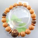 [ポイント10倍] 天竺菩提樹 12mm玉 ブレスレット 緑油伽羅仕立て 限定品