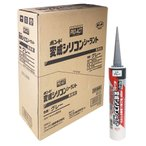 コーナン オリジナル  PROACT(プロアクト) コニシ 変成シリコンシーラント グレー 300ml ×10本セット