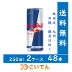 レッドブル RedBull 250ml 2ケース 48本 【送料無料 北海道、九州、沖縄、離島を除く】