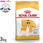 本日ポイント最大12倍! ロイヤルカナン 犬 ドッグフード 柴犬 成犬・高齢犬用 3kg