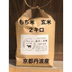 もち米 玄米 2キロ 令和元年産 京都丹波