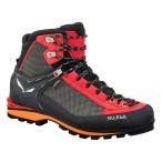 【ポイント12%】シューズ ブーツ 登山靴 サレワ MS CROW GTX [メンズ] ブラック×パパーヴェロ 61328