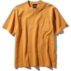 メンズ ウェア Tシャツ ザ・ノースフェイス ショートスリーブガーメンドダイヘビーコットンティー メンズ インカゴールド NT81832