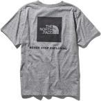 メンズ ウェア カットソー Tシャツ ザ・ノースフェイス ショートスリーブスクエアロゴティー メンズ ミックスグレー NT31957【ポイント10倍】 tnf10p