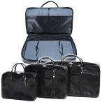 法衣鞄 黒 カブロン(PUレザー)製 大[幅66cm×高さ40cm×厚み9.5cm]法衣かばん/法衣カバン/ほういかばん