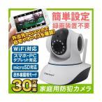 防犯カメラ 家庭みまもりカメラ 1個 監視カメラ Wifi  室内用 家庭用 ネットワークカメラ 遠隔監視 日本説明書付