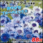 花たね 矢車草 ブルーミックス 1袋(500mg)