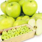 りんご 青森産 ご家庭用 王林(20kg)1箱 50〜90玉 おうりん 木箱 林檎 フルーツ 果物 国華園