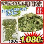 九州産 乾燥野菜 明日葉 100g 1袋 送料無料 メール便 食品 国華園