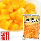 桃  黄桃(ダイス) 1袋 (1袋1.5kg入り) 大袋 食品 国華園