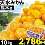 みかん 熊本産 天水みかん 10kg 1組