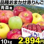 りんご 品種おまかせ 青森赤りんご 林檎 10kg 1箱 食品