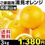 みかん ご家庭用 和歌山産 清見オレンジ 3kg 1箱 送料無料