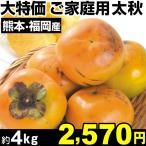 柿 大特価 ご家庭用 太秋 約4kg 1組 カキ