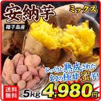 さつまいも 種子島産 安納芋ミックス 5kg 1箱 送料無料 食品 国華園