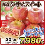 りんご 青森産 シナノスイート 木箱 約20kg 1箱 送料無料 食品 国華園