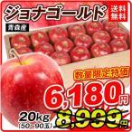 食品 青森産 ジョナゴールド 約20kg 木箱 1組 りんご 国華園