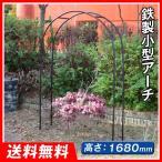 アーチ バラアーチ 鉄製小型アーチ 1個 ガーデンアーチ ローズアーチ ガーデニング