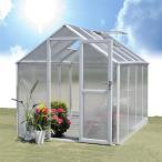 アルミ 温室  アルミ製温室 1.5坪 1台  幅195・奥行257・高さ205