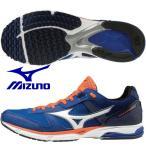 ミズノ MIZUNO/陸上 ランニング マラソンシューズ/ウエーブエンペラー 3/WAVE EMPEROR 3/ブルー×ホワイト×オレンジ/J1GA197601/2019SS