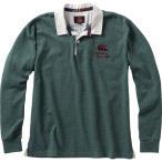 CANTERBURY カンタベリー/ メンズ/ロングスリーブラガーシャツ/RA46617 49/カラー:フォレストグリーン