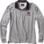CANTERBURY カンタベリー/ メンズ/4Lビッグサイズ/ロングスリーブラガーシャツ/RA46617B 15/カラー:ミディアムグレー