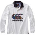 CANTERBURY カンタベリー/ メンズ/ロングスリーブラガーシャツ/RA46619 11/カラー:オフホワイト
