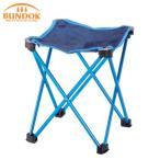 椅子 折りたたみ チェア ミニ アルミスツール M (ネイビー×ブルー) 折りたたみ椅子 イス いす 折畳み おりたたみ アウトドア レジャー