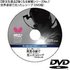 受注生産 強くなる実戦シリーズNo.7世界卓球で光ったレシーブ DVD 代引き不可