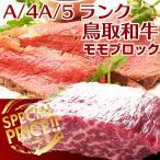ギフト 鳥取和牛 A4 A5 モモブロック精肉 3キロ 国産黒毛和牛肉 送料無料